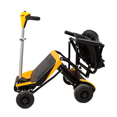 老人折叠电动代步车