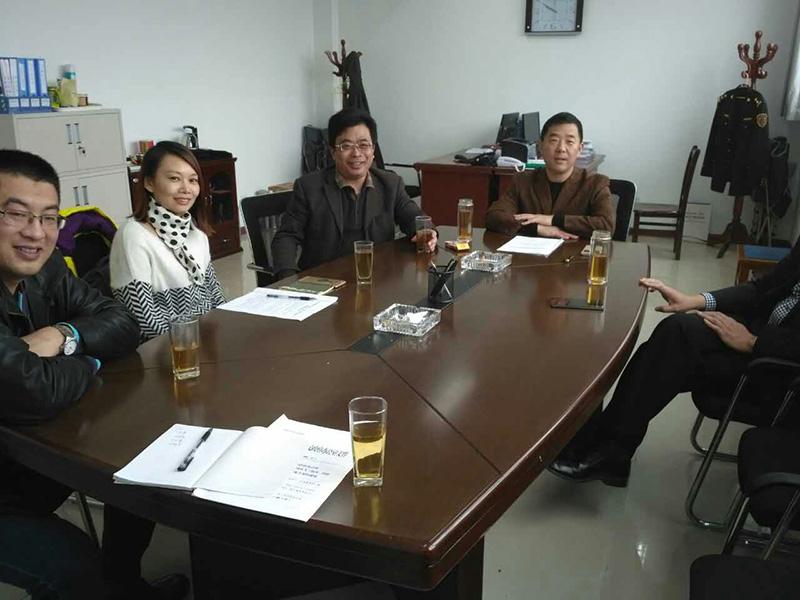 青岛市黄岛区等主要领导接待我司,共同探讨残疾人代步车项目