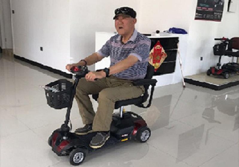 关于电动轮椅代步车的爬坡能力,有必要做一个说明[元亨电动]