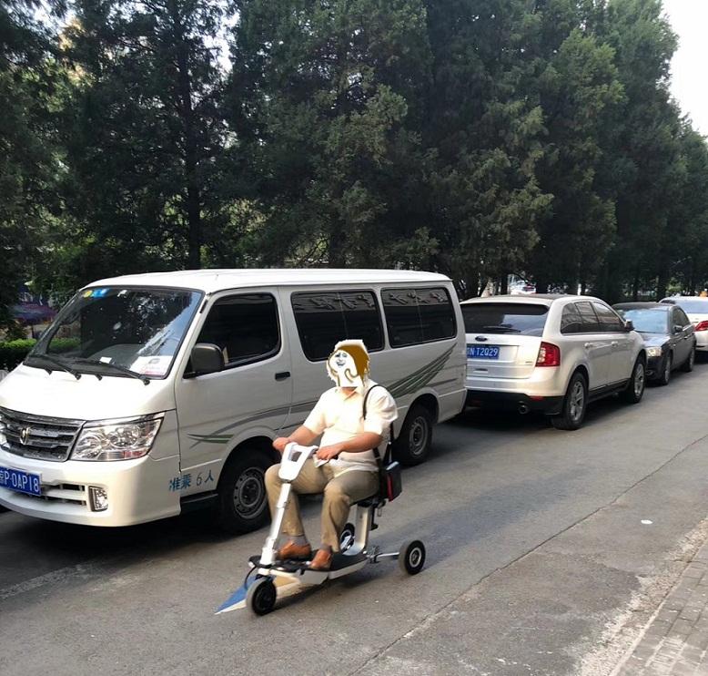 元亨电动可上飞机折叠老年代步车!能够带着老人畅游全国[元亨电动]