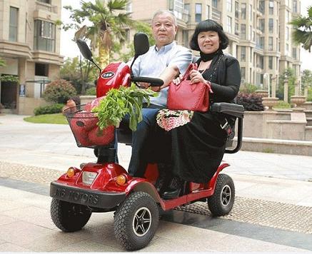 """电动代步车告诉您""""三低""""""""五忌"""",老年人健身的注意事项[元亨电动]"""