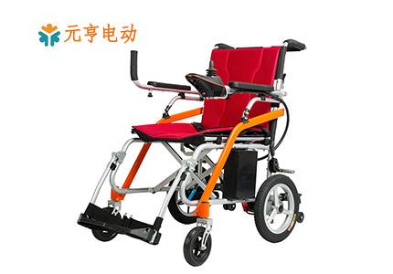 折叠型电动轮椅能带上飞机吗 ?[元亨电动]