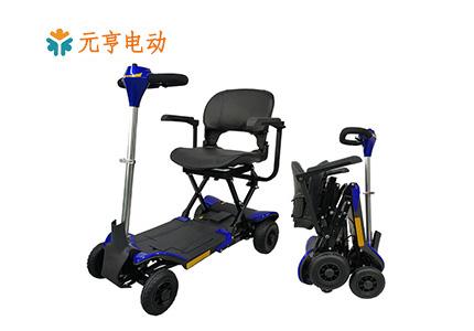 智能折叠代步车—老年人的舒适安全代步工具[元亨电动]