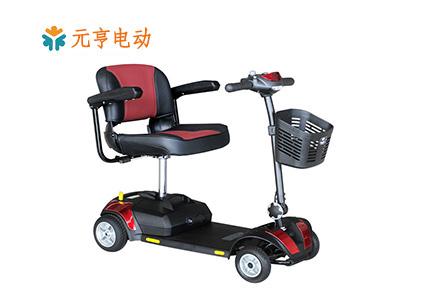纺织厂专用电动四轮代步车[元亨电动]