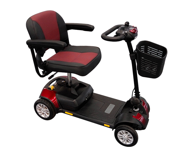 老年人出行就选元亨电动折叠智能代步车