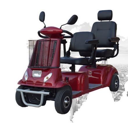老年人两个人生活出行,该选择什么智能老年人双人代步车?