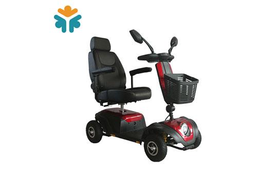 电动代步车轮椅实心胎和充气胎的区别